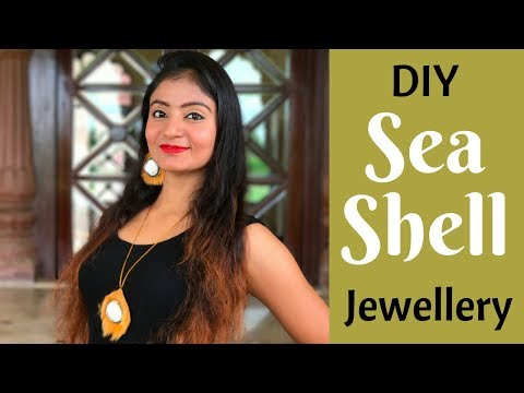 DIY Sea Shell Jewellery | Make Sea-Shell Jewellery at Home by Live Creative
