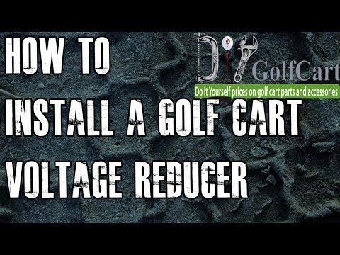 36 or 48 Volt Voltage Reducer | How To Install Video Tutorial | Golf Cart Voltage Reducer