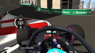 F1 2018 | FORMULA HYBRID 1:38:4 US BAKU + SETUP and DOWNLOAD