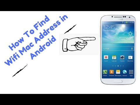 How to find wifi mac address in android