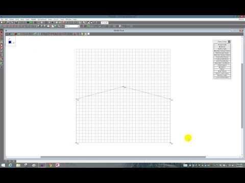 Portal Frame in RISA-3D
