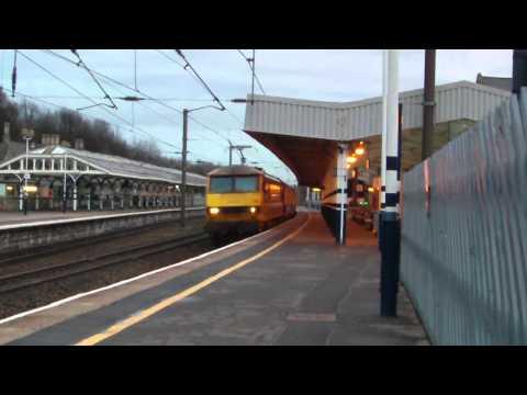90036 hauling 'The Holy Island of Lindisfarne' to Berwick 17/3/12