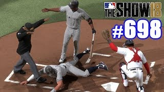 FUNNIEST STEAL OF HOME EVER! | MLB The Show 18 | Road to the Show #698