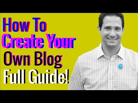 How to create your own blog - Build your own blog within 8 minute