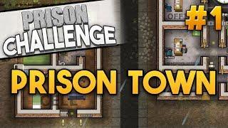 Prison Architect Challenge: PRISON TOWN ★ RICH (#1) - Prison Architect User Challenge