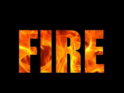 Pure CSS and HTML Fire Effect Text Animation
