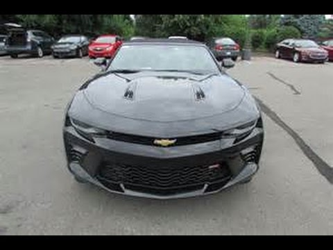 Camaro SS Convertible Review & Drive - 6 speed Manual
