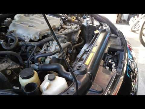 Serpentine belt Replacement | 2005 Nissan 350z