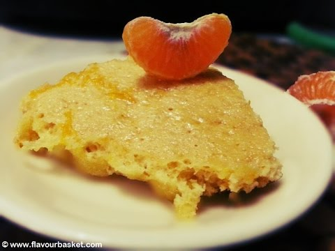 Eggless Orange Cake by Flavour Basket