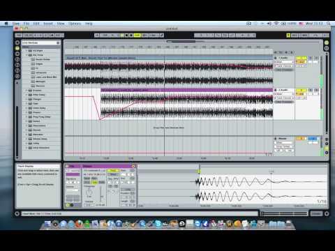 Ableton Live creating a set Tutorial