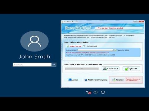 Reset your Forgotten Windows Password with Renee PassNow