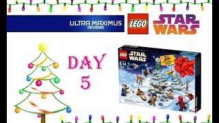 Day 5 Star Wars LEGO Advent Calendar (2018)