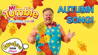 Mr Tumble's Autumn Colour Song   Golden Golden   CBeebies Something Special