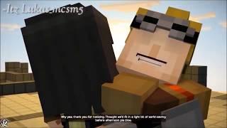 minecraft story mode jesse and lukas