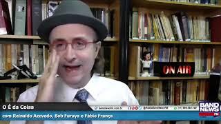 Reinaldo Azevedo: Alô, Toffoli! Canhão não tem liberdade de expressão