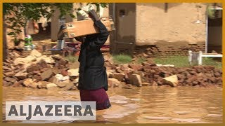 Sudan floods kill scores, displace thousands