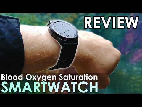 World's 1st Blood Oxygen Saturation Smartwatch [FitOn Review]