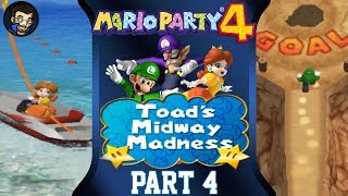 Mario Party 4 Season 2 Game 4 Toad's Midway Madness Pt 1