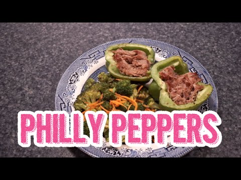 Philly (Philly Cheesesteak Stuffed) Peppers Recipe
