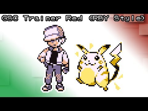 Pokemon Red, Blue and Yellow - Battle! Trainer Red Music [8bit]