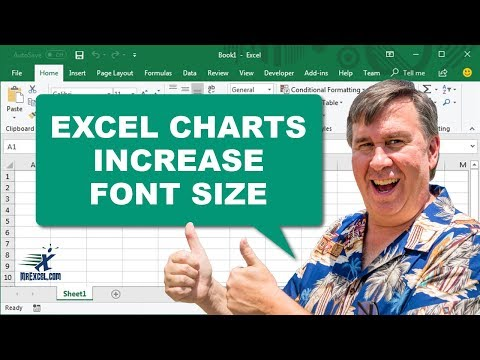 Increase Chart Font Size - 1131 - Learn Excel from MrExcel