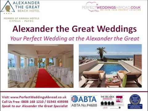 Alexander the Great Weddings