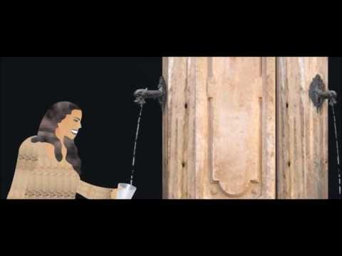 AIX LES BAINS EN SAVOIE FONTAINE THERMALE-VERSION 3D-