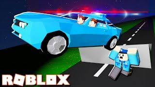 Roblox Adventures - HIJACKING A POLICE CAR & ESCAPING ROBLOX PRISON! (Jailbreak)
