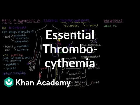 What is essential thrombocythemia? | Hematologic System Diseases | NCLEX-RN | Khan Academy