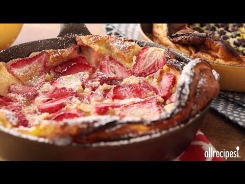 How to Make Skillet Strawberry Pancakes   Brunch Recipes   Allrecipes.com