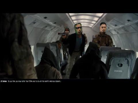 The Dark Knight Rises - Plane Scene with Deus Ex Sound Effects
