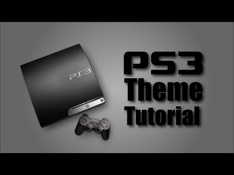How to create a Playstation 3 theme - Tutorial