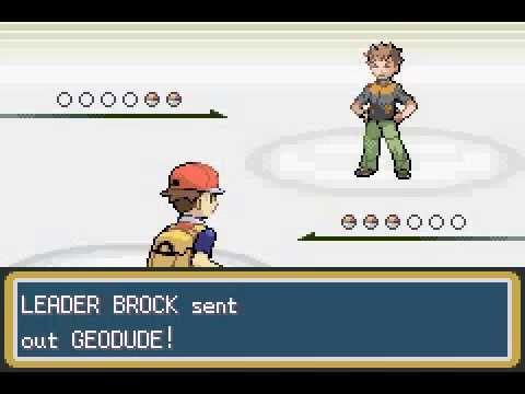 Pokemon Leaf Green - Brock