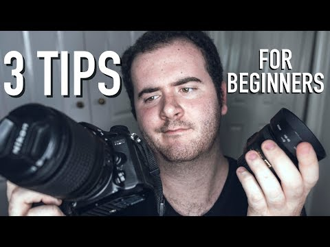 BEGINNING PHOTOGRAPHY FOR INSTAGRAM? My top 3 Tips!