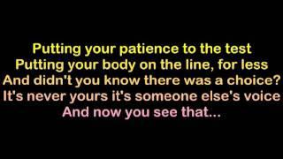 The Strokes - Machu Picchu (Lyrics)