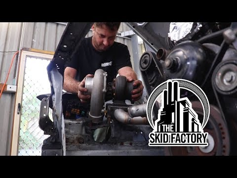 THE SKID FACTORY - Turbo LS1 R32 Skyline [EP2]