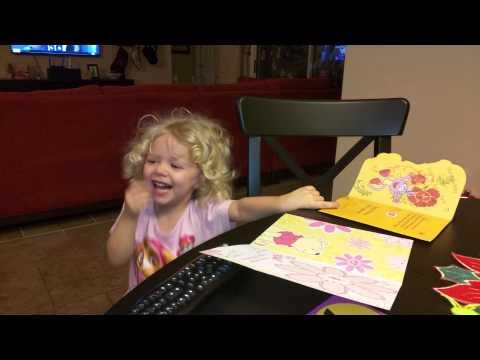 Dora birthday card