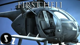 First Look: FIRST HELICOPTER in DayZ Standalone