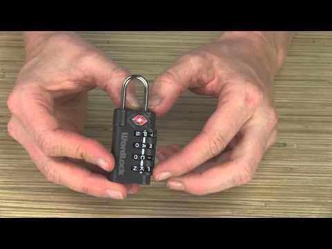 Travel Accessories | Word Lock®TSA Lock®
