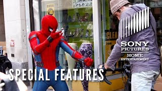 Spider man Homecoming Special Features spidey Moves Now On Blu ray