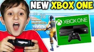 KID GETS XBOX ONE IF BEATS DEATHRUN!!! - Fortnite