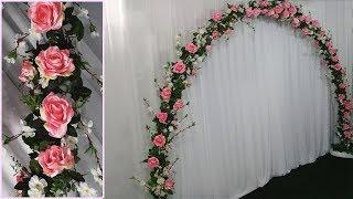 Como Fazer Arco de Flores Para Casamento Como Montar um Arco de Flores Artificial Para Cerimônia