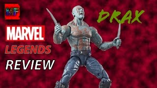 Marvel Legends Guardians Of The Galaxy Vol2 DRAX Review