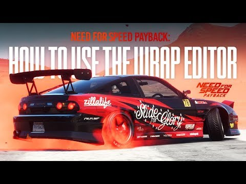 Need for Speed Payback - USING THE WRAP EDITOR! (180SX Customisation)