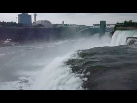 Niagara River before it hits the falls