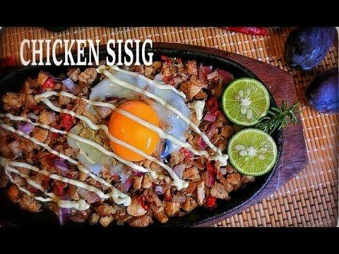 Chicken SISIG Recipe / LK
