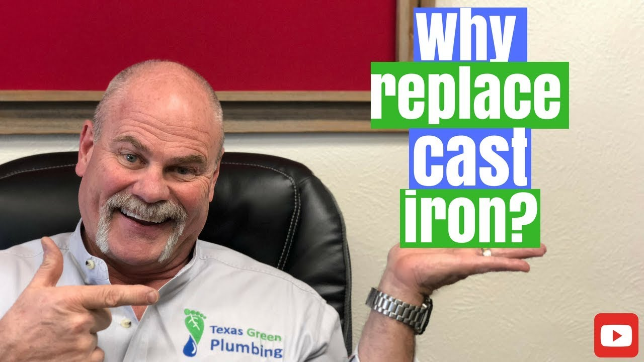 Why Replace Cast Iron Drain Pipes?