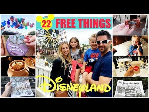 How to Get FREE Stuff at Disneyland! (22 DISNEYLAND FREEBIES!)