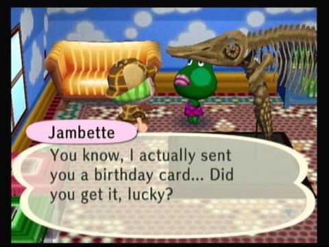 Animal Crossing City Folk - Birthday Surprises