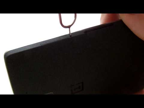 OnePlus One UK Version - How to insert the SIM card